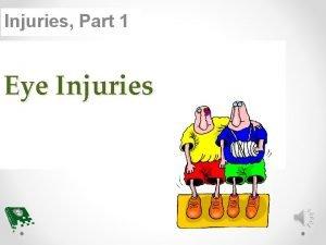 Injuries Part 1 Eye Injuries Before After BELLWORK