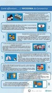 Come affrontare L INFODEMIA da Coronavirus 1 Gli