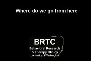 Where do we go from here DBT Rescue