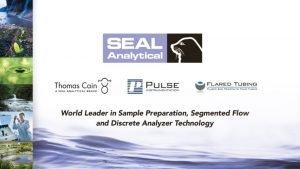 Laboratory Division Facilities SEAL Colorimetric Analyzers SEAL History