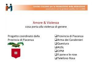 Amore Violenza cosa porta alla violenza di genere