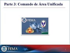 Parte 3 Comando de rea Unificada 1 Comando