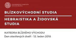 Otevran studijn programy 201920 Bakalsk prezenn 3 roky