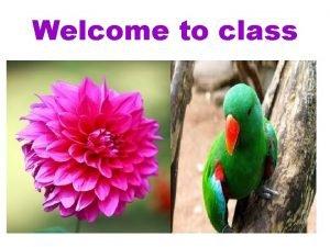 Welcome to class Teachers Identification Subrata kumar Mondal