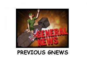 PREVIOUS GNEWS Patch 11 Patches bugs addressed Affecting