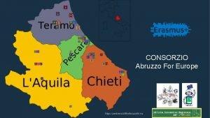 CONSORZIO Abruzzo For Europe Consorzio Abruzzo for Europe