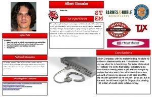 Albert Gonzalez Shakira Avila Woodrow Wilson High School