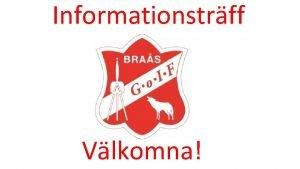 Informationstrff Vlkomna Idrottsfrening bildad 1925 Idrottsfrening bildad 1925