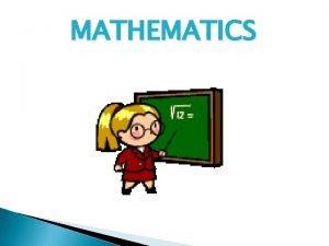 MATHEMATICS PSLE Mathematics Paper Format Paper Item Type