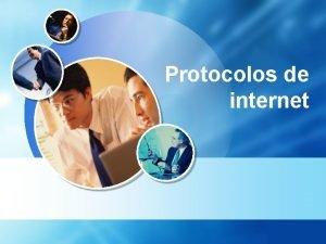 Protocolos de internet LOGO Definicin La definicin del