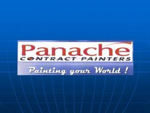 FRANCHISOR BACKGROUND We are provided with backup from