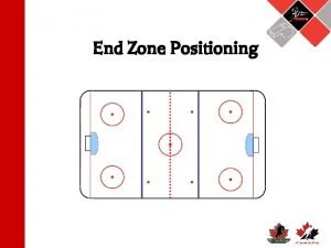 End Zone Positioning End Zone Positioning Proper end