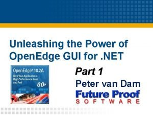 Unleashing the Power of Open Edge GUI for