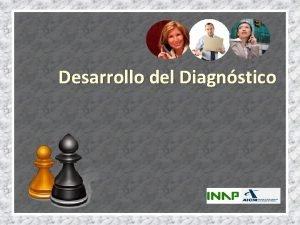 Desarrollo del Diagnstico Plataforma del diagnstico Supuestos Metodolgicos