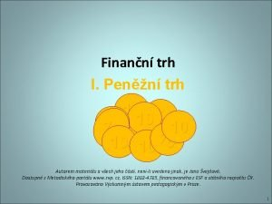 Finann trh I Penn trh 10 10 10