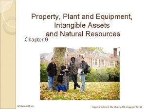 Property Plant and Equipment Intangible Assets and Natural