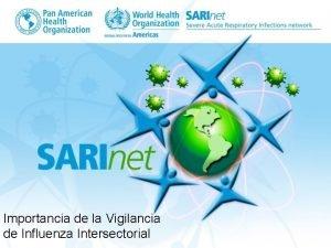 Importancia de la Vigilancia de Influenza Intersectorial Antecedentes