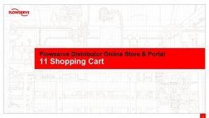 Flowserve Distributor Online Store Portal 11 Shopping Cart