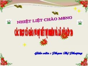 Gio vin Phm Th Ph ng Kim tra