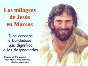 Los milagros de Jess en Marcos Dios cercano