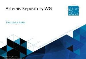 Artemis Repository WG Petri Liuha Nokia ARTEMIS Industry