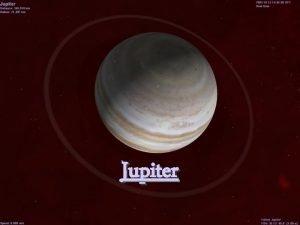 Jupiter Jupiter je piatou plantou v porad od