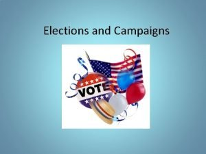 Elections and Campaigns Presidential Elections Exploration AnnouncementPress Conference