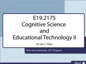Cognitive Science Overview Emotional Design Cognitive Science Emotional