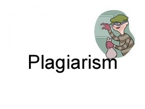 Plagiarism Plagiarism or not You have too much