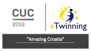 Amazing Croatia e Twinning project Amazing Croatia Blanka