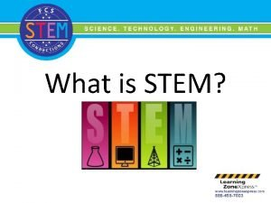 What is STEM Overall STEM Education Integrates science