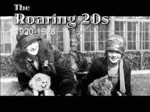 1920 1928 I Post WarHarding 1 Harding Administration