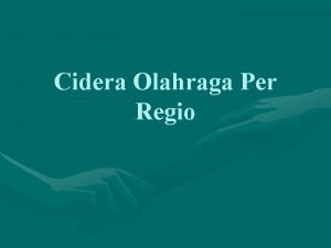 Cidera Olahraga Per Regio Regio Bahu Cidera rotator