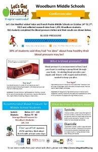 Woodburn Middle Schools Lets Get Healthy visited Valor