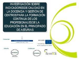 Financian Solicita Colaboran Asturias NDICE q Presentacin del