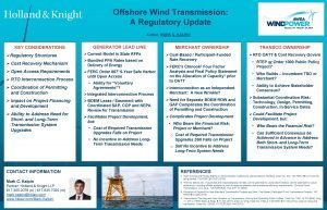 Offshore Wind Transmission A Regulatory Update Author MARK