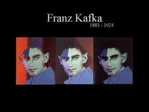 Franz Kafka 1883 1924 STRUN IVOTOPIS 3 ervenec