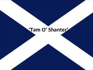 Tam O Shanter Lesson 1 Robert Burns Robert