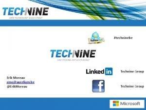 techninebe Technine Group Erik Moreau emoaurelium be Erik