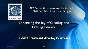 APS Committee on Accreditation of National Exhibitions and