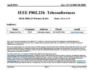 April 2014 doc 22 14 0064 00 000