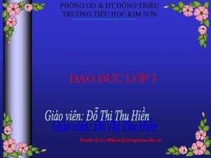 PHNG GD T NG TRIU TRNG TIU HC