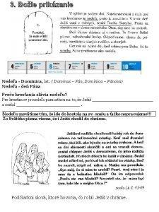 3 Boie prikzanie Nedea Dominica lat Dominus Pn