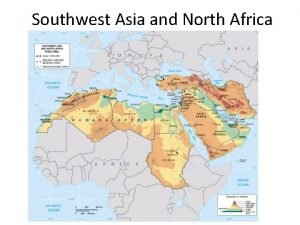 Southwest Asia and North Africa Golan Heights and