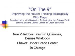 On The 9 Improving the Future Thinking Strategically