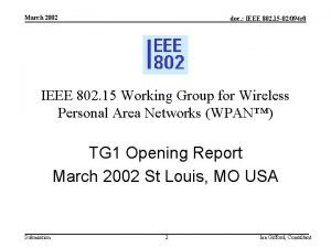 March 2002 doc IEEE 802 15 02094 r