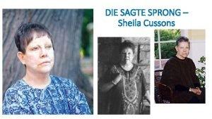 DIE SAGTE SPRONG Sheila Cussons DIE SAGTE SPRONG
