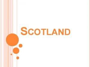 SCOTLAND v Scotland is a region of Great