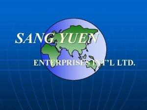 SANG YUEN ENTERPRISES INTL LTD COMPANY DATA COMPANY