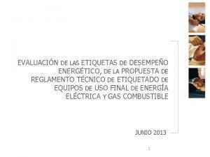 EVALUACIN DE LAS ETIQUETAS DE DESEMPEO ENERGTICO DE